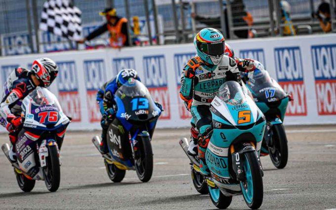 Jaume Masiá, intratable en Motorland, consigue la segunda victoria consecutiva en Moto3