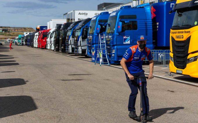 Motorland retoma este jueves la actividad para preparar el GP de Teruel