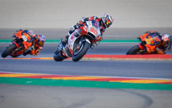 Nakagami se estrena por la puerta grande como poleman de MotoGP del Gran Premio Liqui Moly Teruel