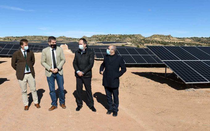 A punto de comenzar a funcionar la primera planta solar de Alcañiz