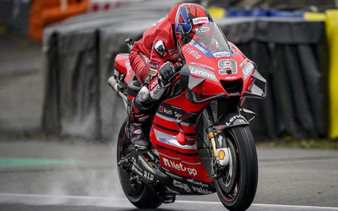 Petrucci se alza con el triunfo en el gran premio de MotoGP de Le Mans