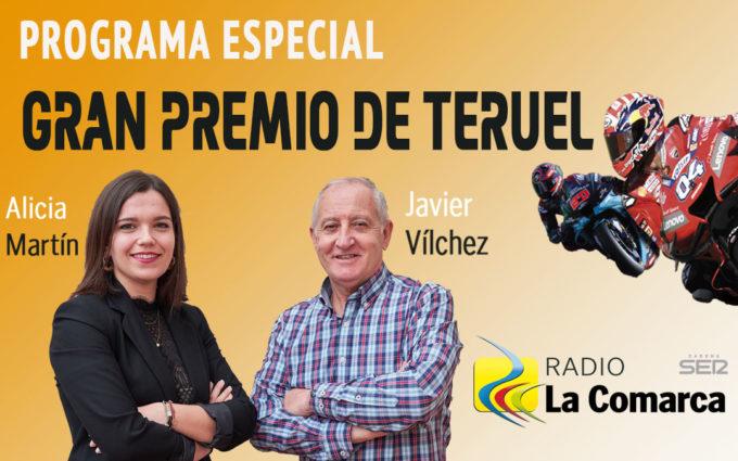 El Gran Premio de Teruel sonará este domingo en Radio La Comarca