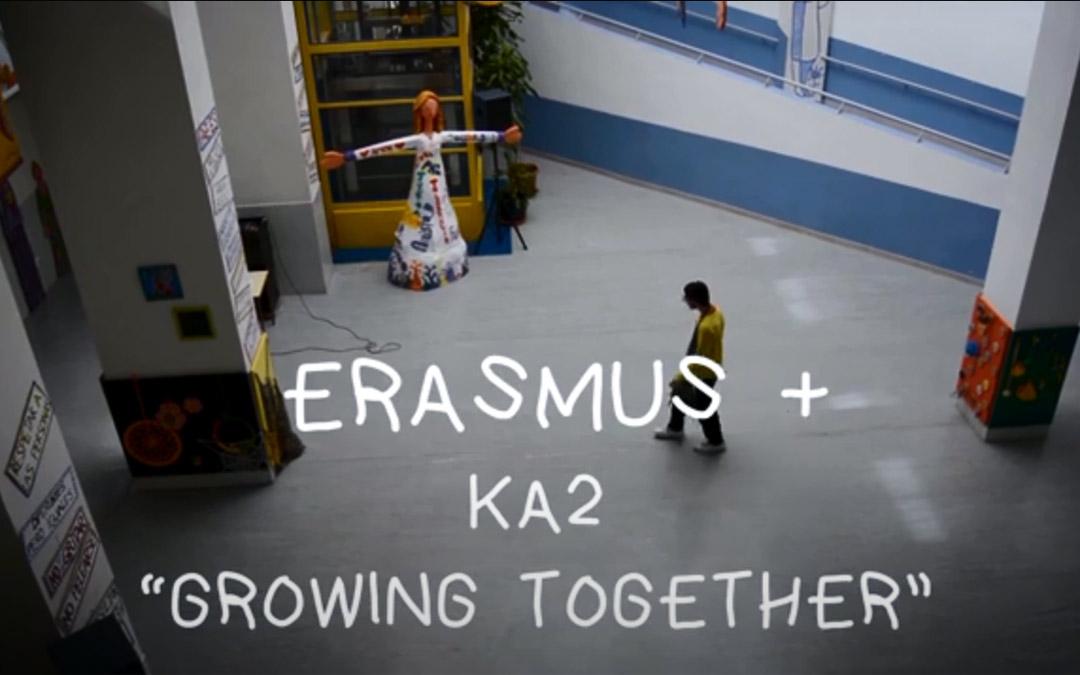 Imagen de apertura del corto documental 'Creciendo Juntos'./LA COMARCA
