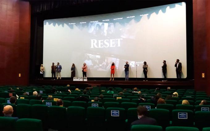 Preestreno de 'Reset', la película sobre el covid de siete realizadores aragoneses