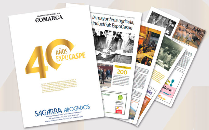 La COMARCA lanza una revista especial por el 40 aniversario de ExpoCaspe