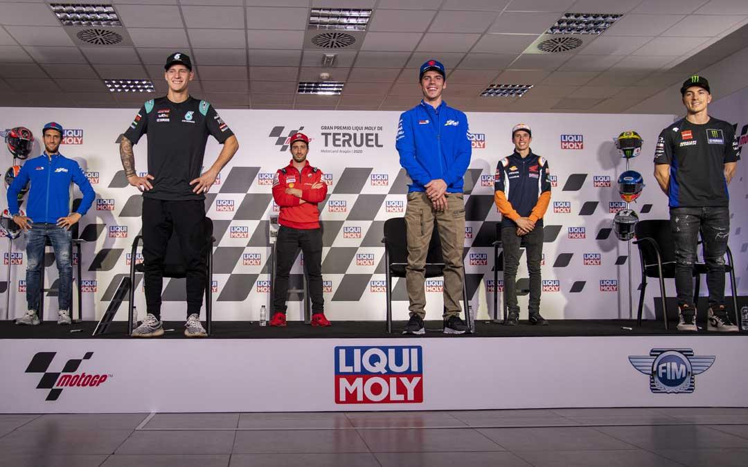 Rueda de prensa previa al Gran Premio Liqui Moly de Teruel de MotoGP