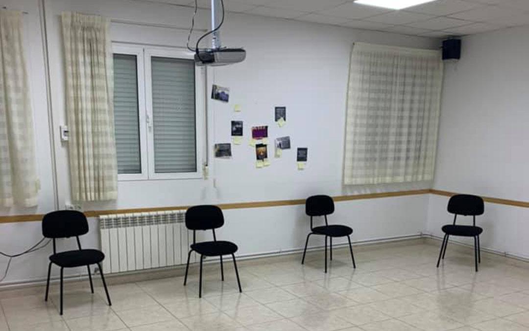 Sala en la que se realizan terapias grupales./La Comarca