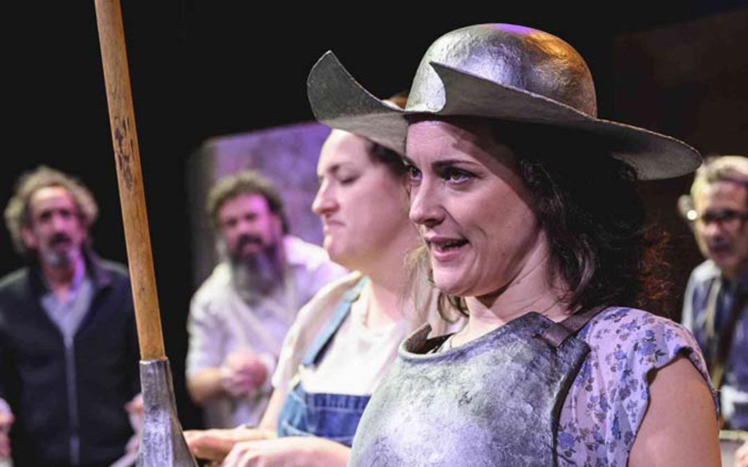 'Don Quijote somos todos', de la compañía aragonesa Teatro El Temple, abrirá la XXVII Muestra de Teatro de Andorra./L.C.