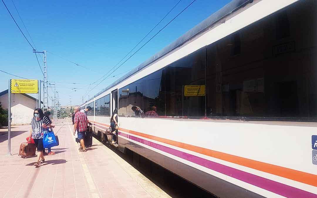 Estación de Caspe./ L.C.