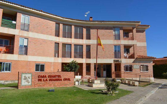 La AUGC denuncia que la carencia de personal y medios ayudan a la expansión del covid en la Guardia Civil de Teruel