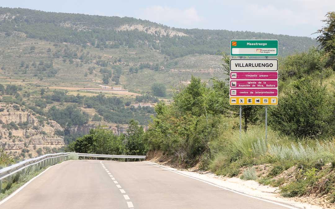 Una de las entradas a Villarluengo.