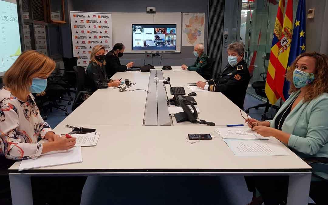 Reunión del CECOPI este jueves por la mañana en Zaragoza. DGA