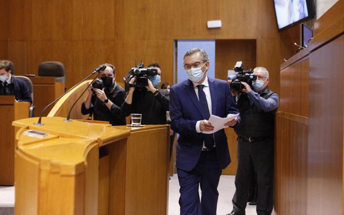 La oposición tiende la mano a Lambán aunque critica duramente la gestión de la pandemia