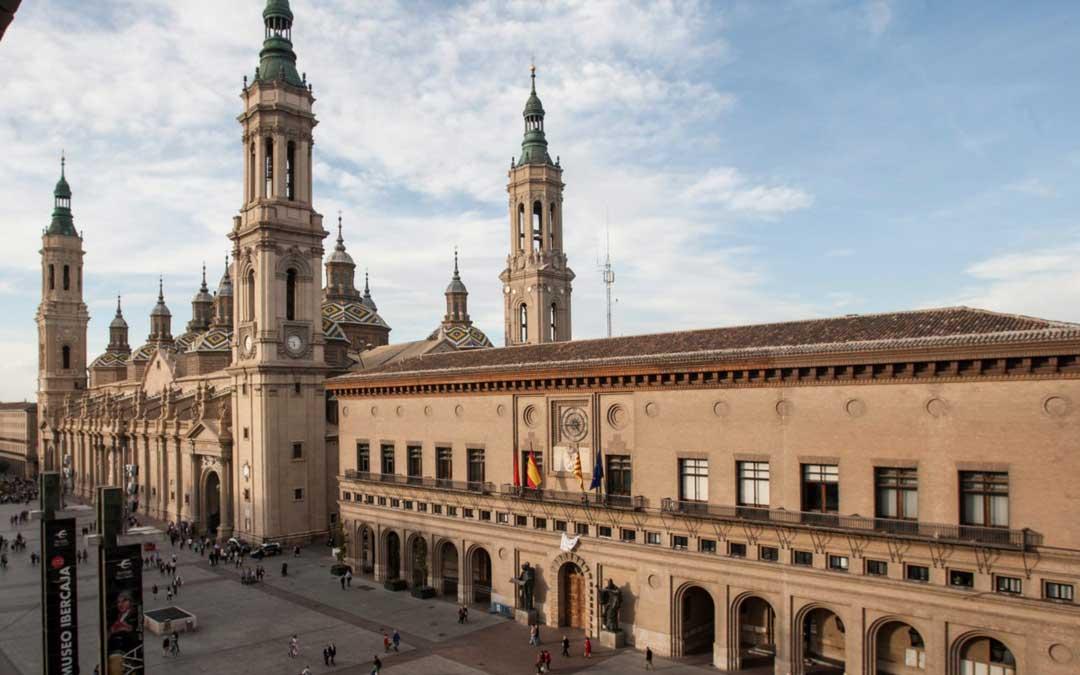 Plaza del Pilar de Zaragoza / Heraldo