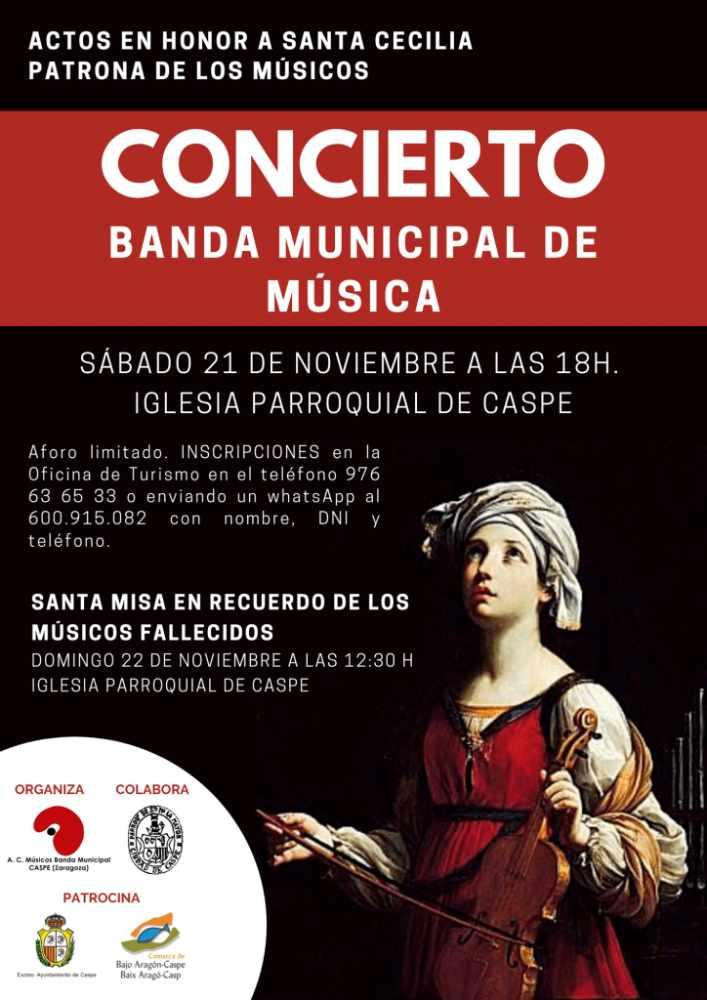 Concierto de la banda en honor a Sta. Cecilia