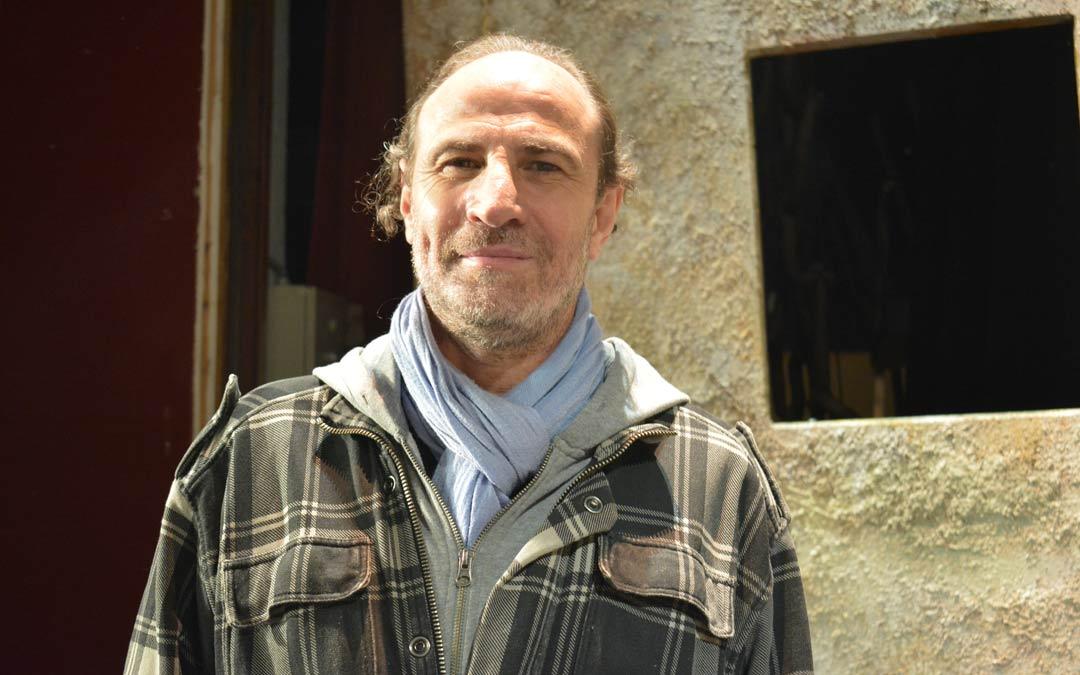 Carlos Martín, director de la compañía Teatro del Temple./I.M.
