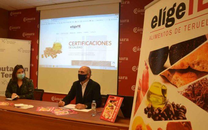 DPT y Cámara de Comercio se unen para promocionar los productos agroalimentarios turolenses