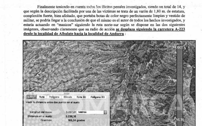 Un informe hallado por la viuda de Víctor Caballero desmonta la versión oficial de la Guardia Civil