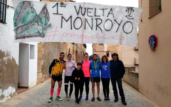 El corredor monrogino Ángel Antolín completa 56 kilómetros para visibilizar que la diabetes y el deporte son compatibles