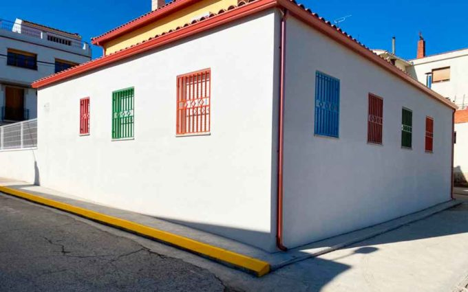Chiprana finaliza las instalaciones de su nueva aula-canguro para niños de 0 a 3 años