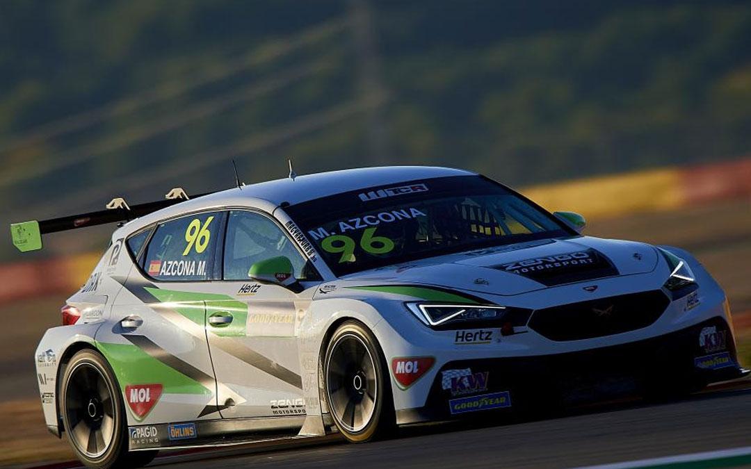 El Cupra de Azcona con el que el español intentará volver a subir al podio este fin de semana