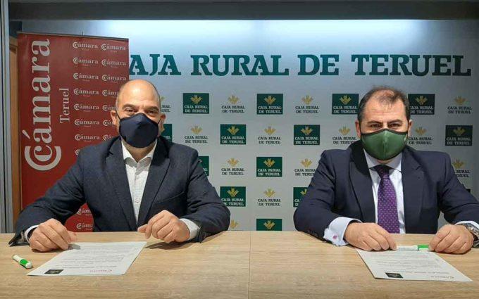 Caja Rural de Teruel renueva su compromiso con Cámara de Comercio