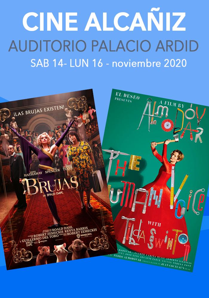 Cine Alcañiz del 14 al 16 de noviembre