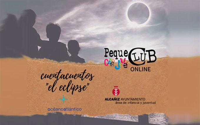 Cuentacuentos online 'El eclipse' este sábado desde el Centro Joven de Alcañiz