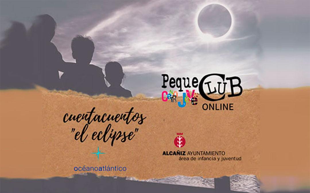 Cuentacuentos online 'El eclipse' desde el Centro Joven de Alcañiz./ L.C.