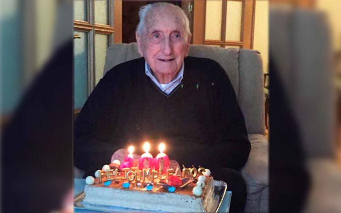 El maellano Miguel Lacueva, nuevo centenario en el Bajo Aragón-Caspe