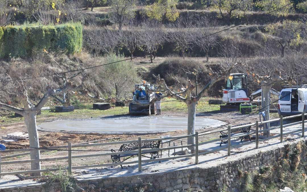 El helipuerto estará ubicado en las proximidades de las piscinas municipales.