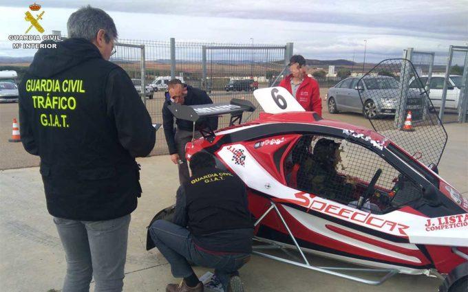 La Guardia Civil concluye la investigación de una red de robo de motores de Autocross que se usaron en Motorland