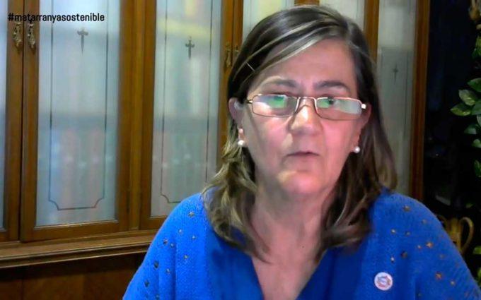 Paloma Ibarra: «El modelo por el que apostó el Matarraña choca con las propuestas eólicas»
