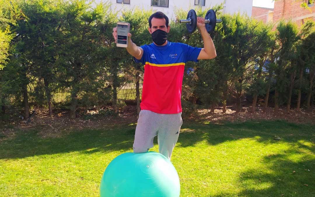 El impulsor de esta app es el deportista valderrobrense Carlos Jávega.