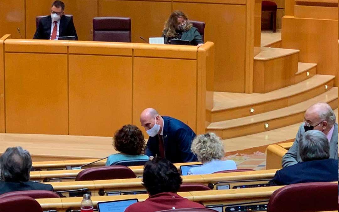 El senador de Teruel Existe, Joaquín Egea./ T.E.