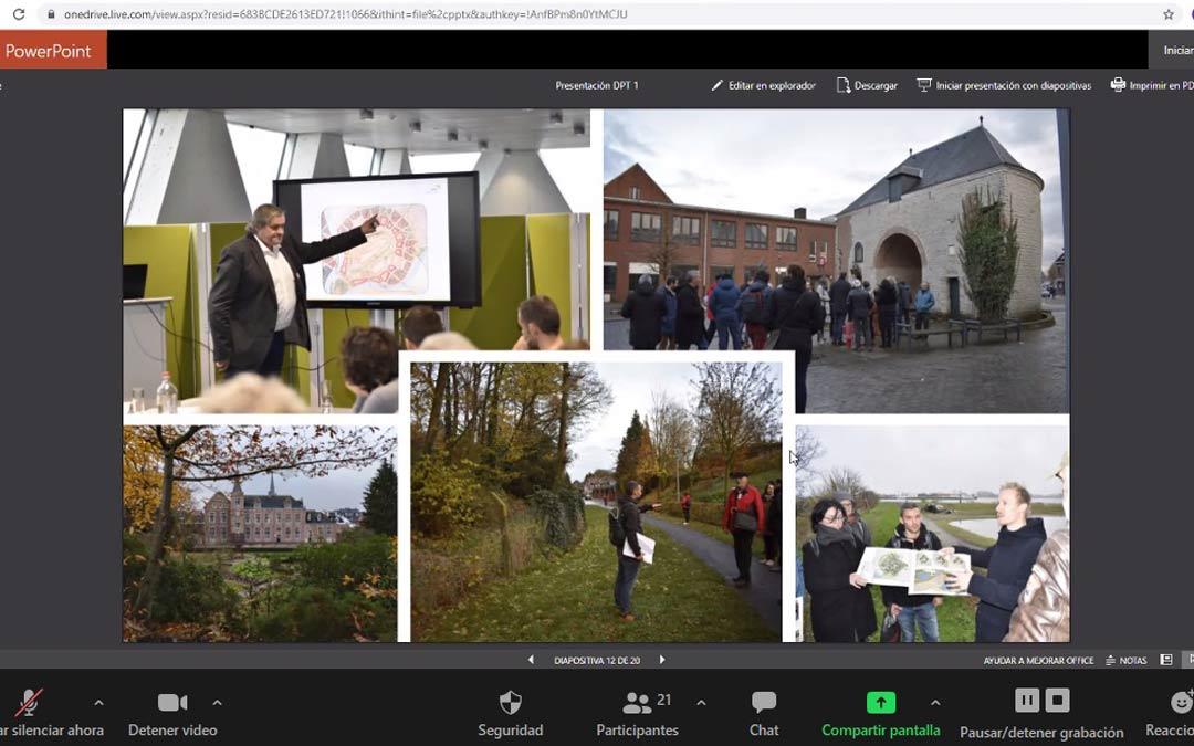 En la jornada online se expusieron diferentes experiencias realizadas con fondos europeos./L.S.