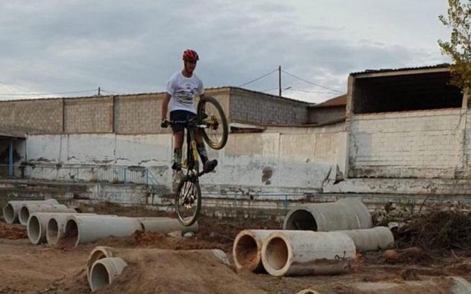 Calanda está construyendo un nuevo espacio deportivo en La Ventolera
