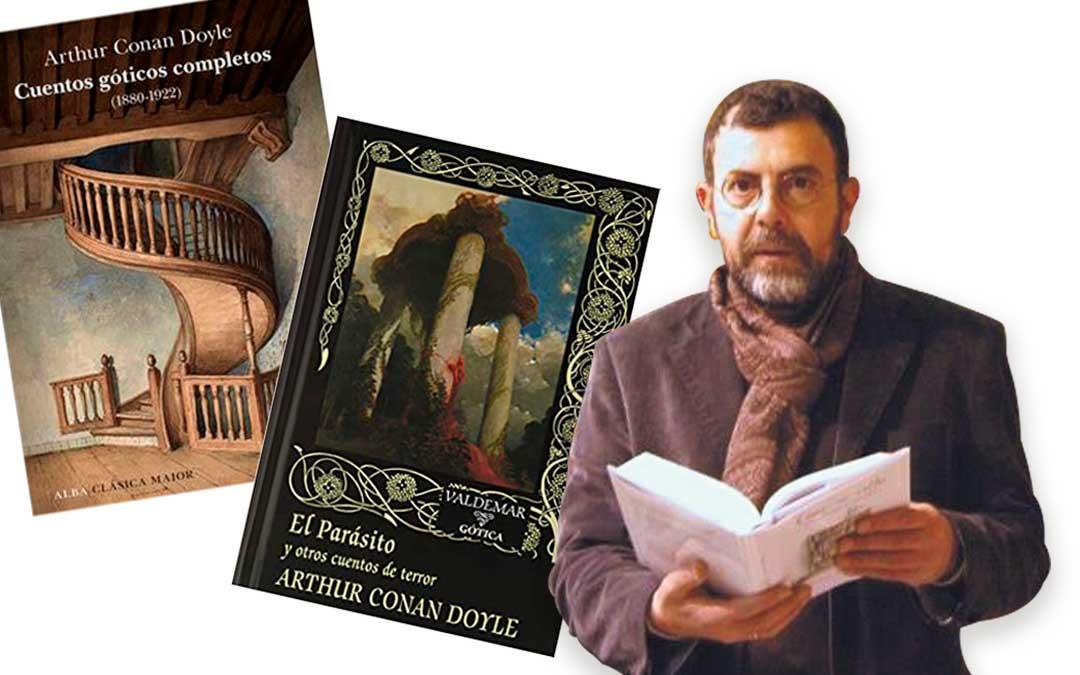 libros miguel ibanez cuentos goticos el parasito
