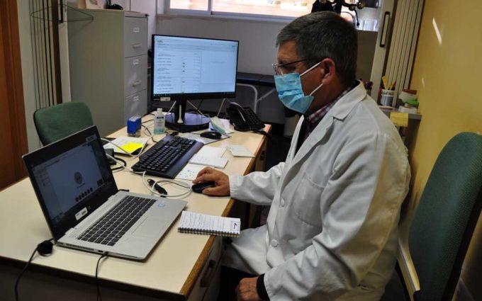 El centro de salud de Calaceite, pionero en implantar la vídeo consulta