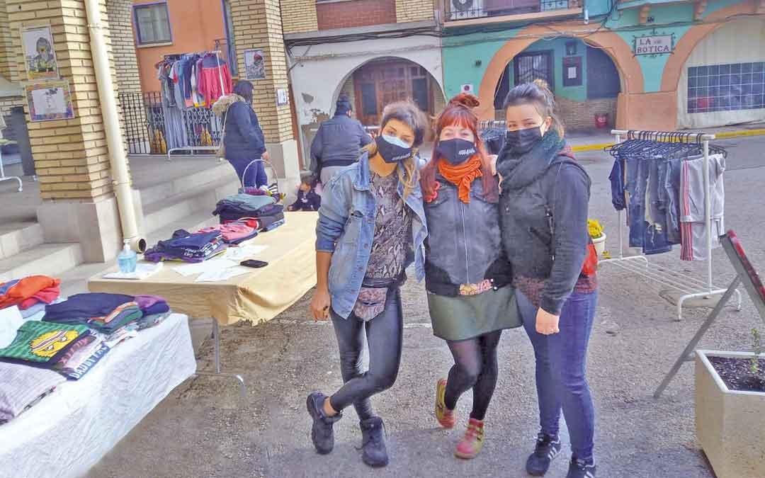 El mercadillo se celebró el domingo en La Puebla / Otistarda