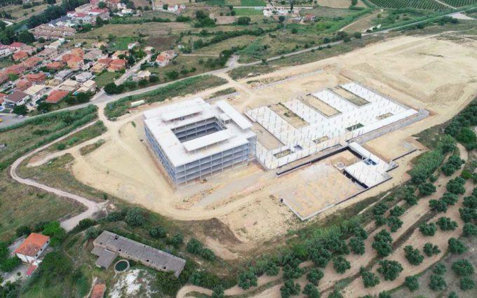 DGA adjudica la continuación de la obra civil del Hospital de Alcañiz al Grupo MLN