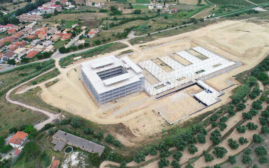 Las obras del nuevo Hospital llevan más de dos años paralizadas / DGA