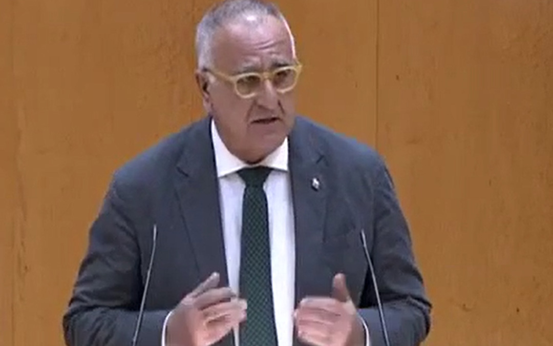 El senador aragonesista, Clemente Sanchez-Garnica. / PAR