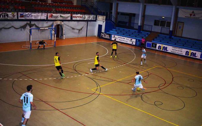 El Fútbol Sala Caspe empata a 4 frente al Wikys Gelsa en el primer partido en casa de la temporada