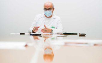 «Solo puedo dar las gracias a todos los trabajadores del Hospital de Alcañiz»