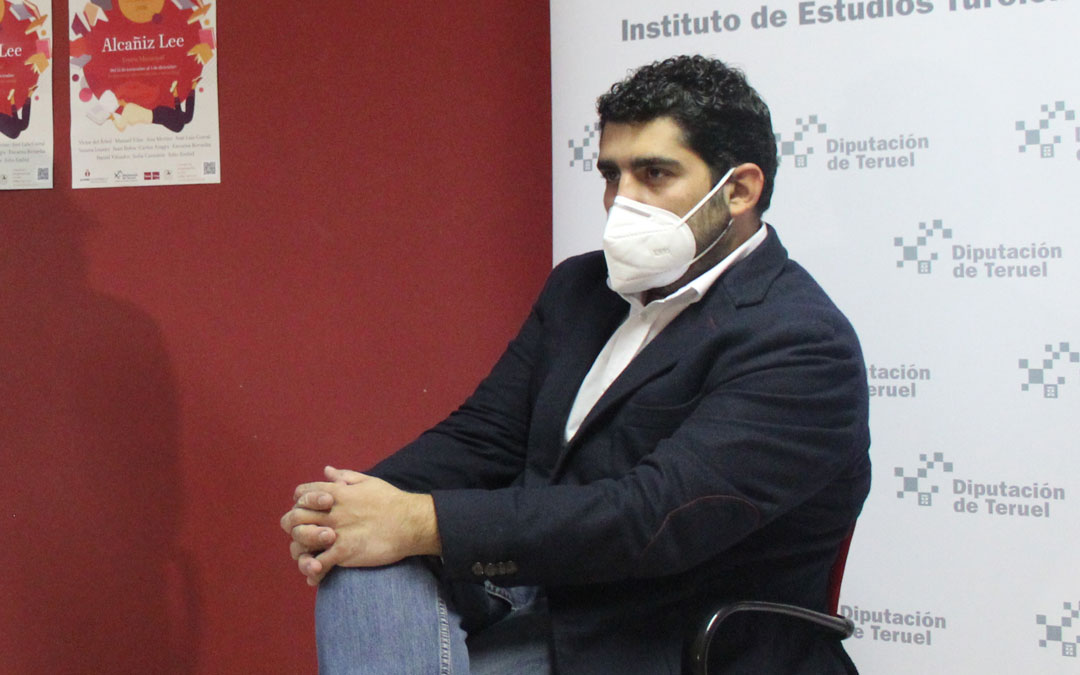 Diego Piñeiro es el diputado delegado de Cultura y Turismo de la Diputación de Teruel / B. Severino