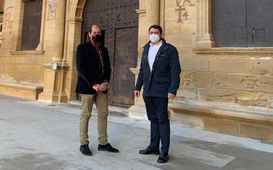Los concejales Ángel Espés y Miguel Ángel Estevan / PP