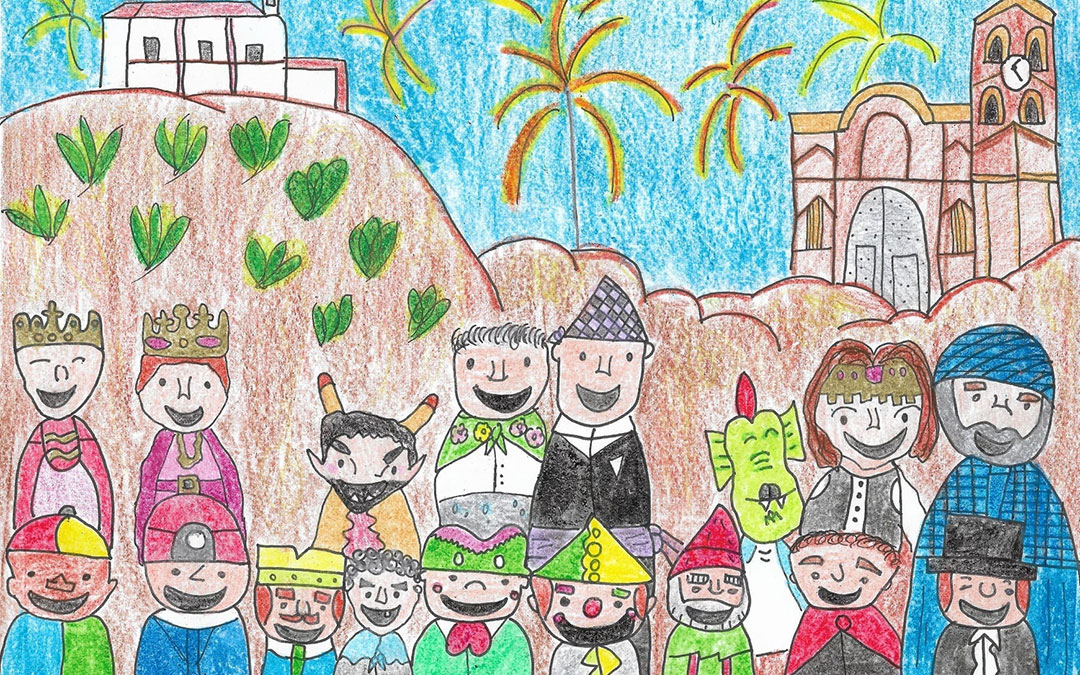 Dibujo ganador de Sara Ciércoles Pérez