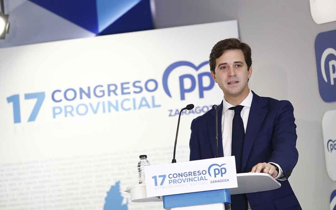 Ramón Celma es el nuevo presidente del PP en Zaragoza.