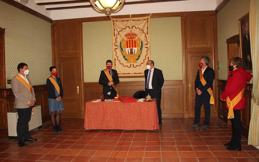 Rando ha sido recibido por una representación de la corporación municipal / L. Castel
